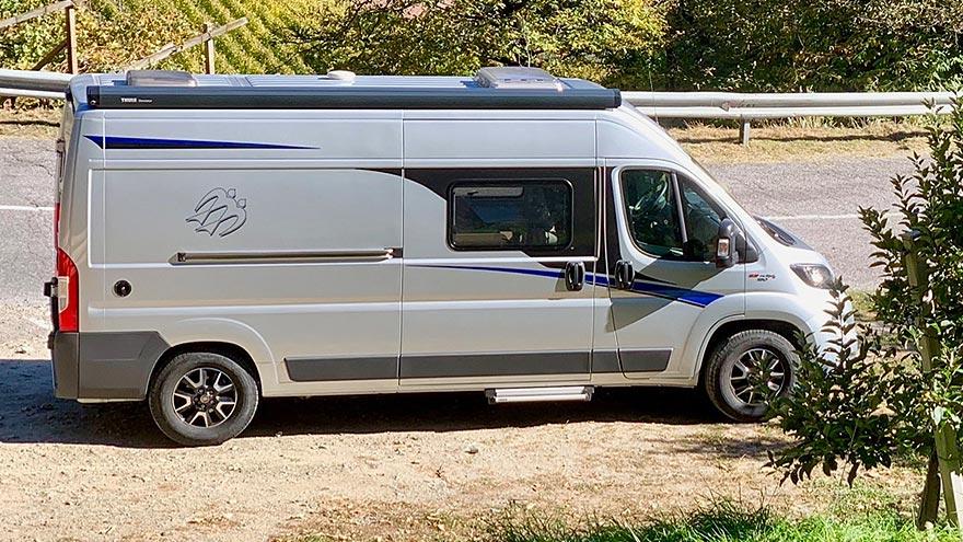Knaus Wohnmobil mieten bei L-Parts on Tour