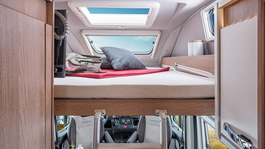 Weinsberg CaraBus 600 MQH Schlafbereich